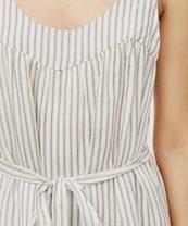 Striped Pintucked Sundress