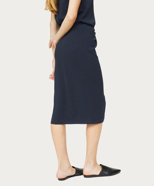 Crepe Tie Skirt