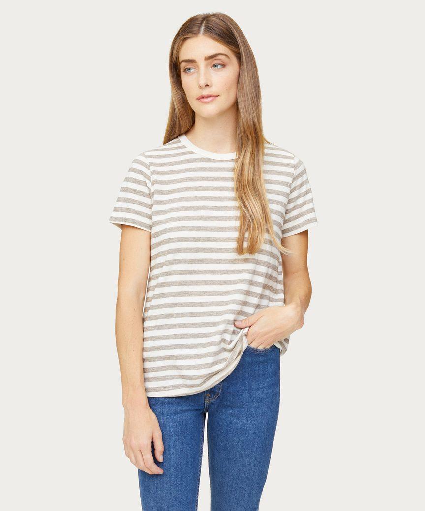 Striped Basic T-Shirt