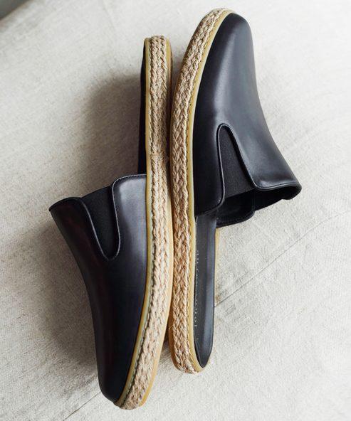 Leather Marina Espadrille Mule