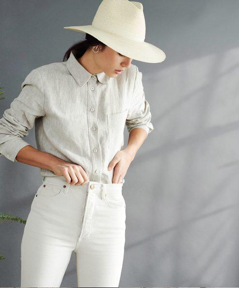 Linen Classic Button-Up