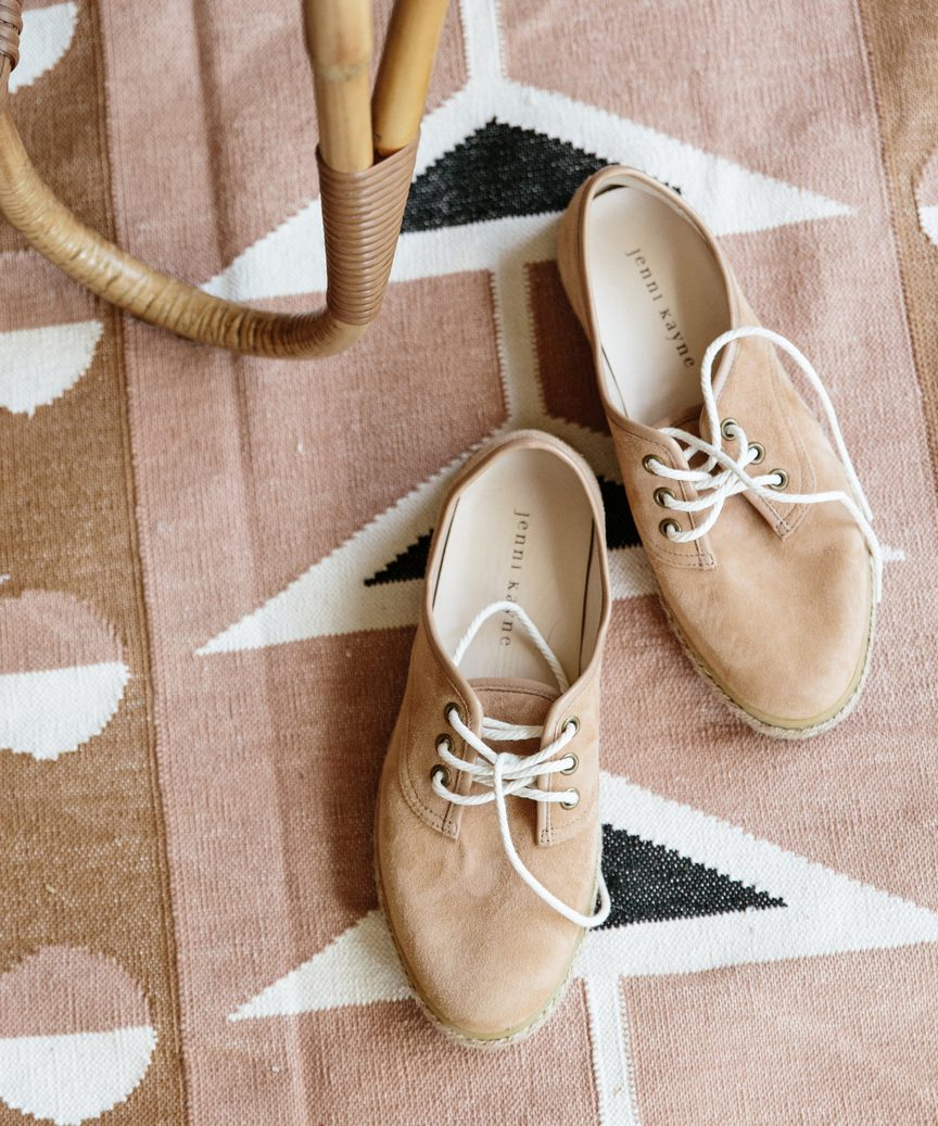 Suede Marina Espadrille Sneaker