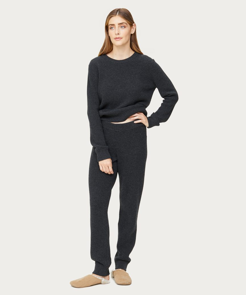 Cashmere Thermal Sweatpant