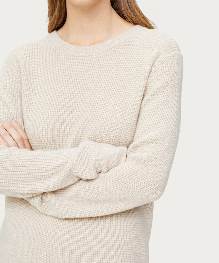 Cashmere Thermal Crewneck