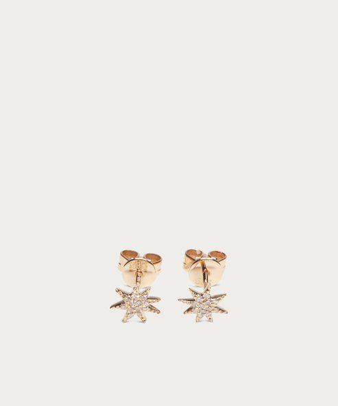 Pave Shooting Star Earrings