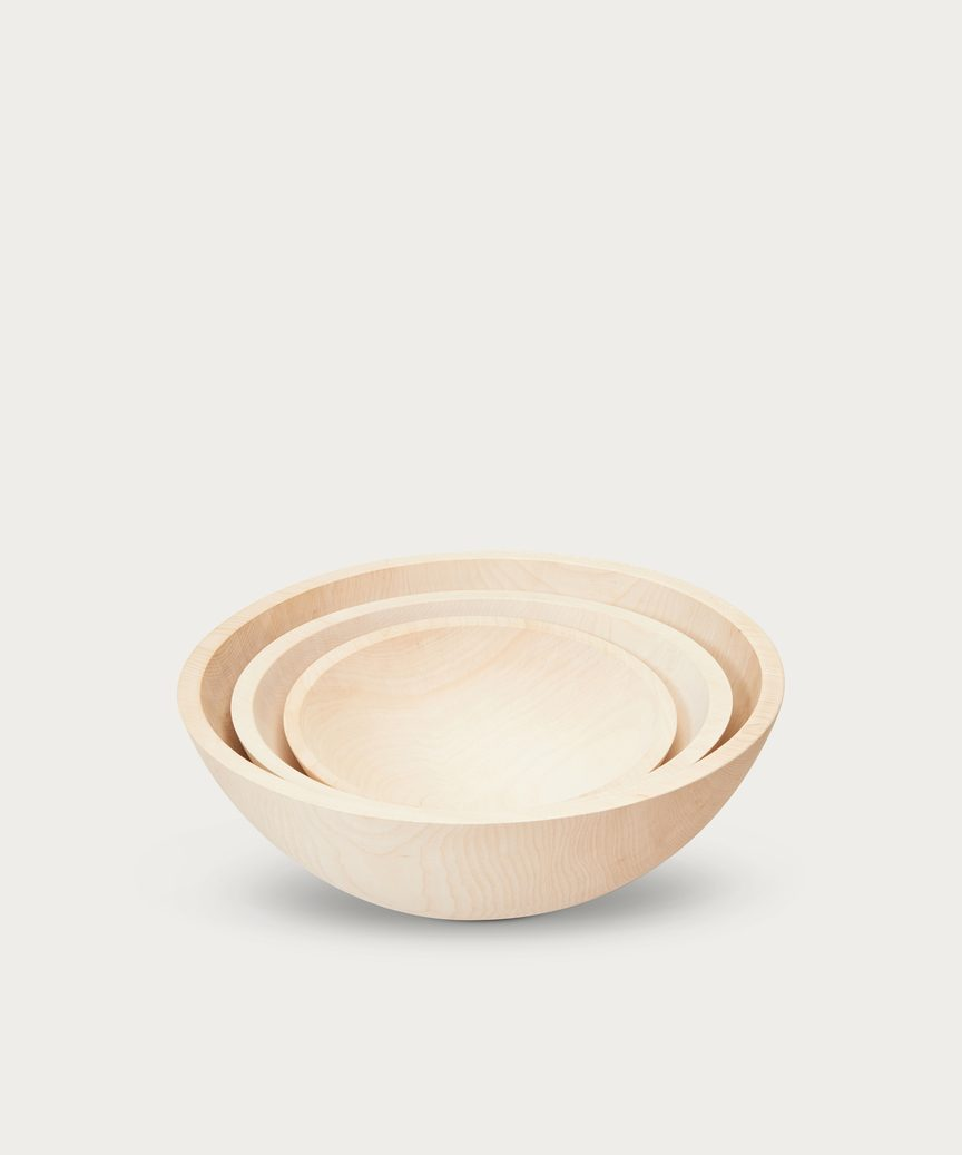 Medium Maple Wood Bowl