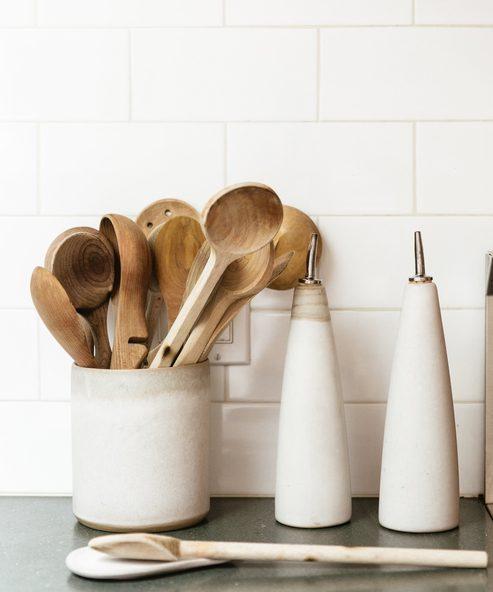 Stoneware Kitchen Crock