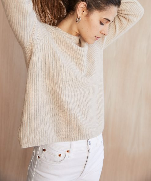Cashmere Fisherman Sweater