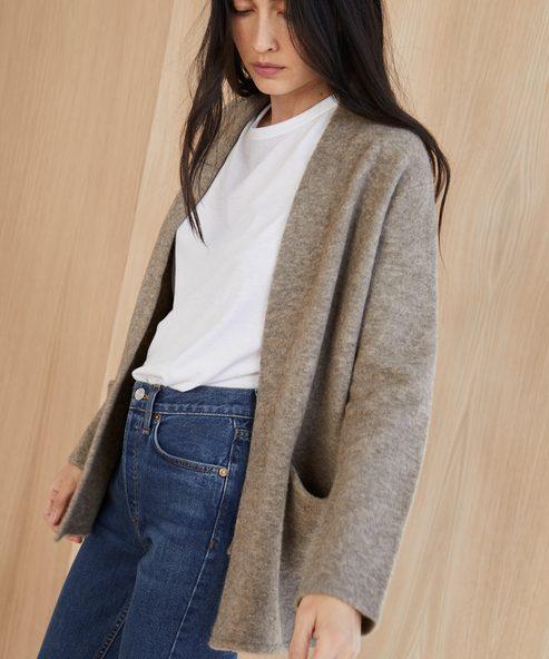 Short Sweater Coat