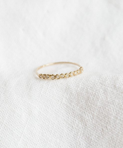 Diamond Half-Eternity Band