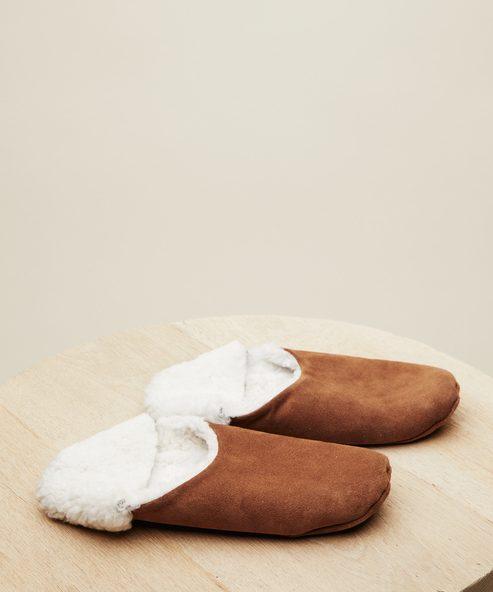 Suede Moroccan Slipper