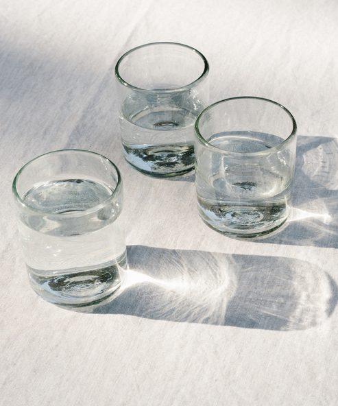 Straight Rock Glass