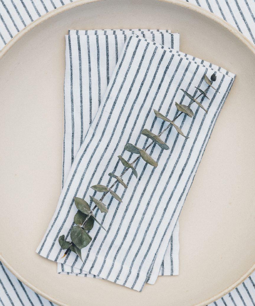 Striped Linen Napkin