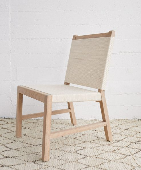 Oak Rope Chair