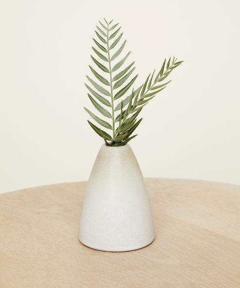 Cone Ceramic Bud Vase