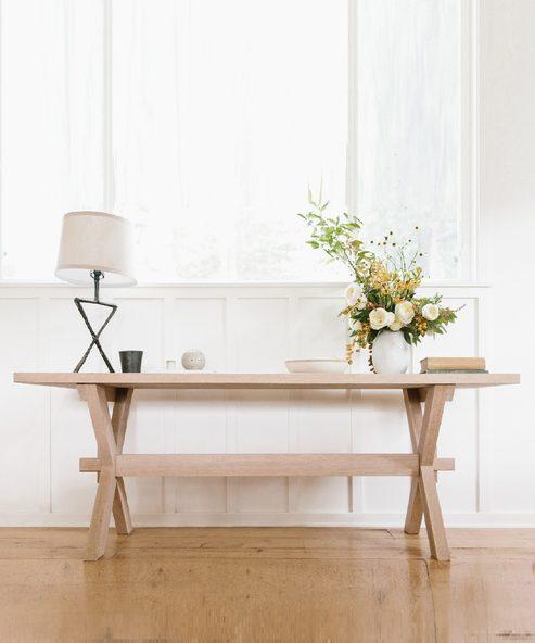 Oak Entry Table