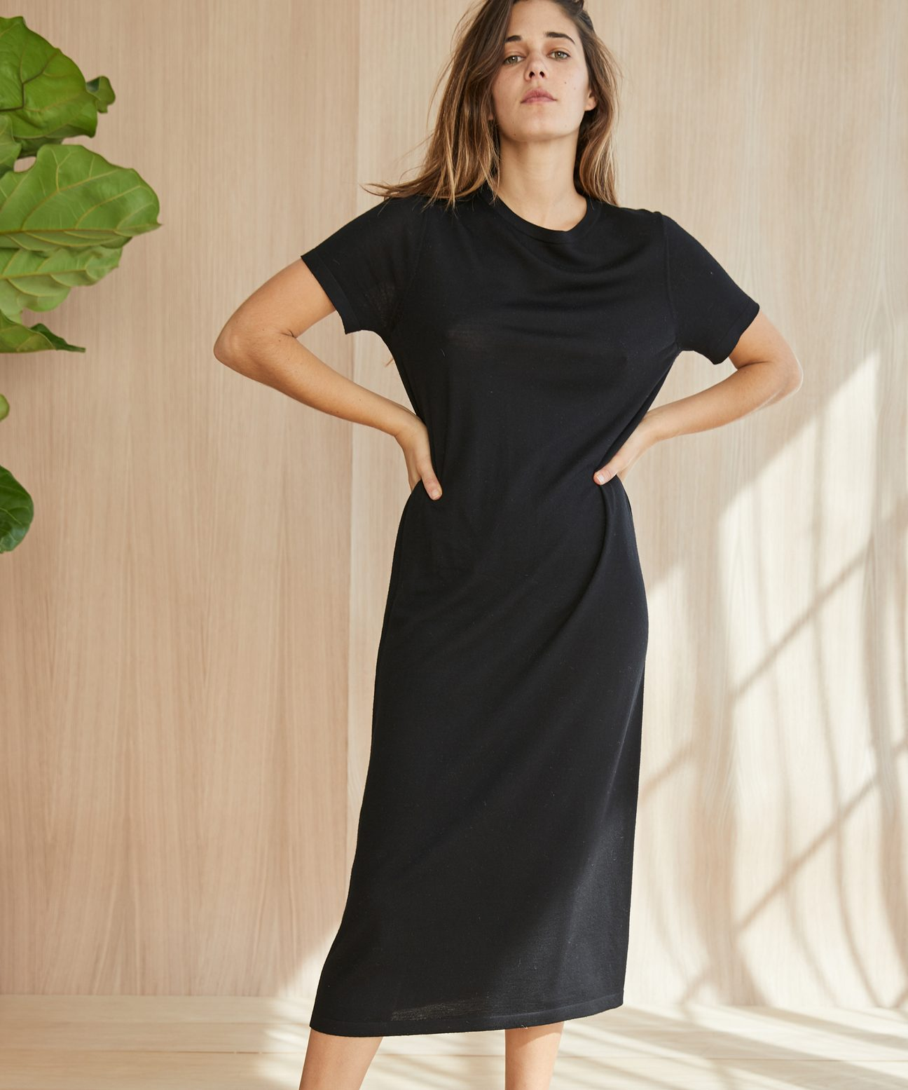4cbda2aa03 Jenni Kayne Merino T Shirt Dress Black-1.jpg 1551750100