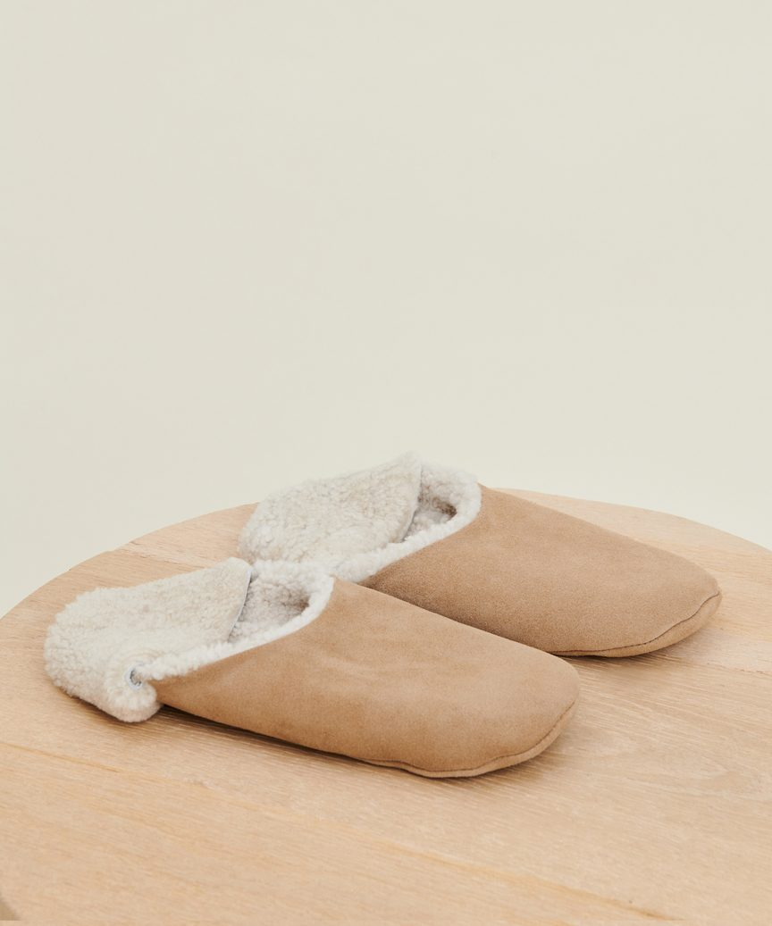 Suede Moroccan Slipper by Jenni Kayne