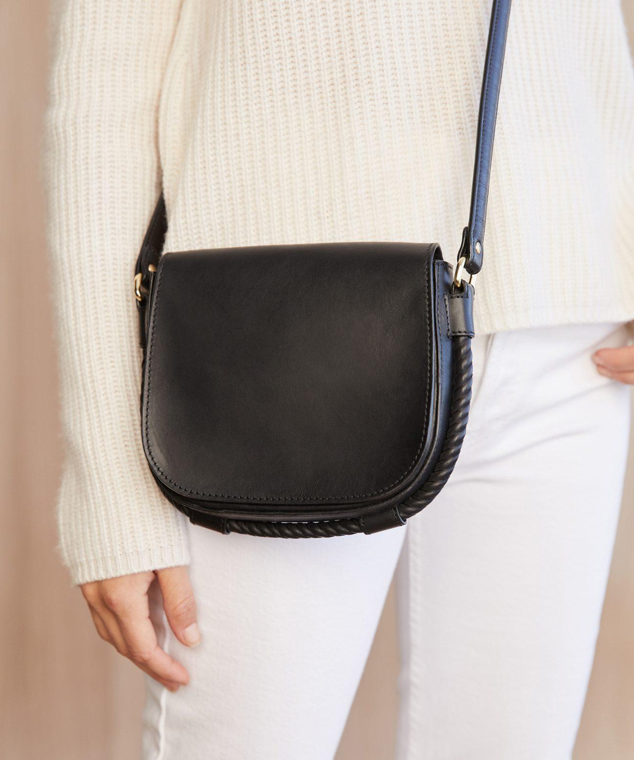 Small Saddle Bag Black Jenni Kayne