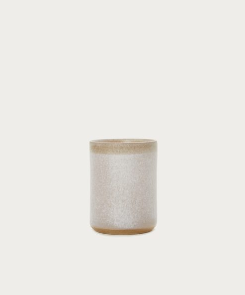 Desert Ceramic Candle