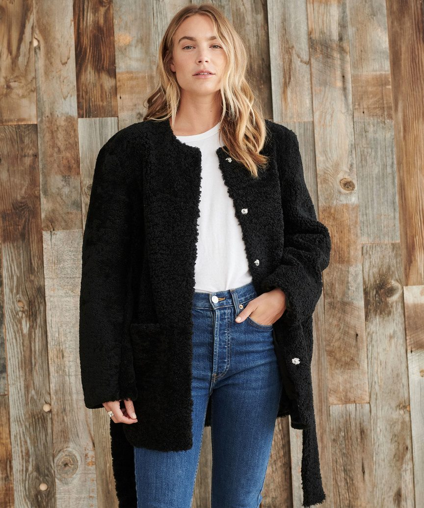 Shearling Yves Jacket by Jenni Kayne