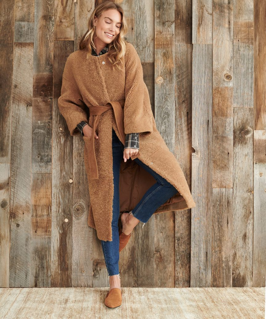 Shearling Yves Coat by Jenni Kayne