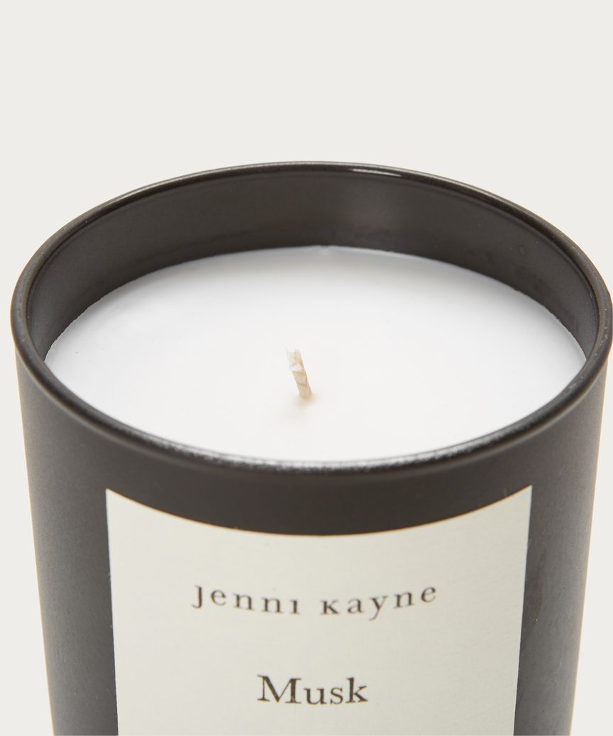 Musk Matte Glass Candle